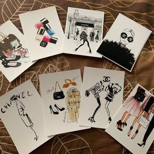 Fashion Blank Card set of 8.
